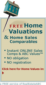 Click here to find Home Values in Florida